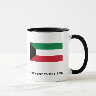 القدحالكويت de la taza de la bandera de Kuwait*