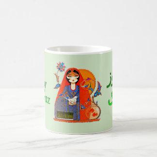 نوروز de la taza de café de Nowruz del persa