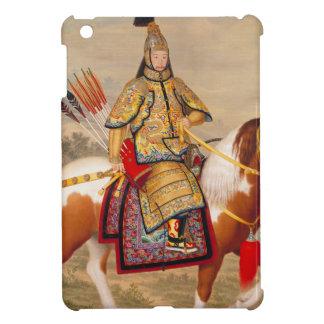 乾隆帝 del emperador de Qianlong de China en armadura