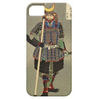 山中幸盛 de Yukimori del guerrero del samurai - 月岡芳年 Funda Para iPhone SE/5/5s