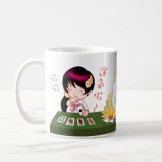 新年賀喜創意馬克杯 (賭神款 del ángel) taza de café