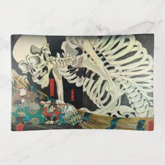 相馬の古内裏, esqueleto del 国芳 manipulado por la bruja,