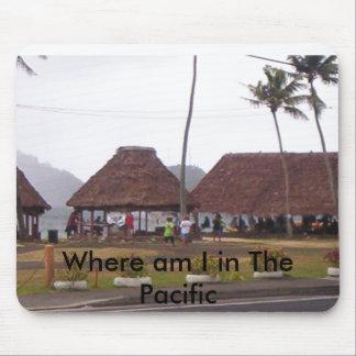 000_0395, donde estoy en el Pacífico Alfombrilla De Ratón