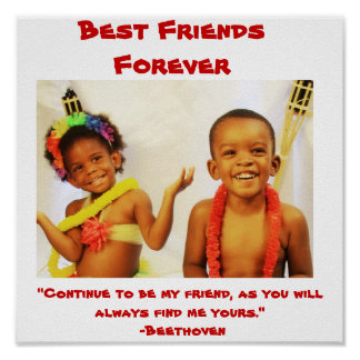 """003, mejores amigos para siempre, """"continúan siend posters"""