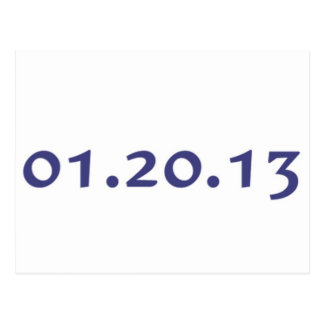 01.20.13 - El día pasado de Obama como presidente Postal