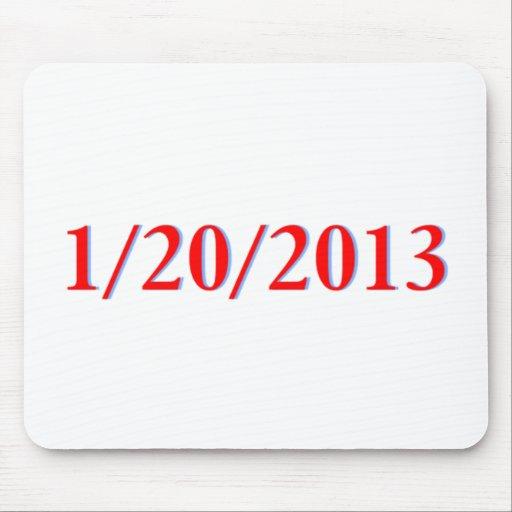 01/20/2013 - El día pasado de Obama como president Alfombrilla De Raton