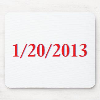 01 20 2013 - El día pasado de Obama como president Alfombrilla De Raton