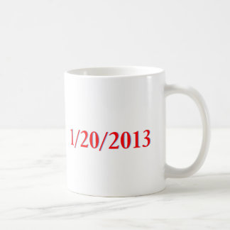 01 20 2013 - El día pasado de Obama como president Taza De Café