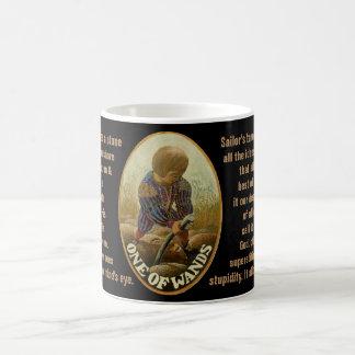 01. Una de varas - tarot del marinero Taza De Café