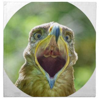 01o de la cabeza 004 de Eagle de la estepa, Servilleta De Tela