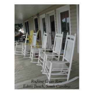 022, playa de RowEdisto de la mecedora, Carolina Postal