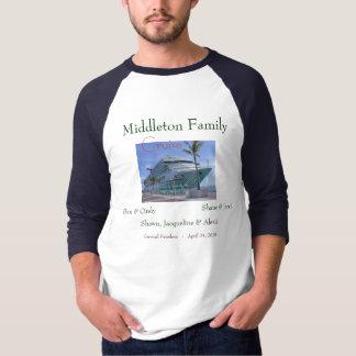 0258, familia de Middleton, Ben y Cindy, Shane y Camisetas