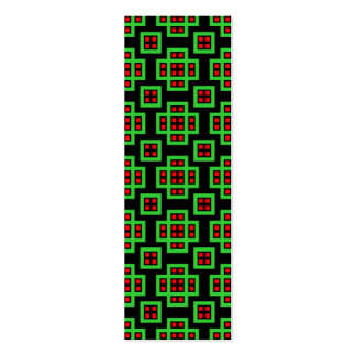 030614 geométricos - Colores 03 Tarjetas De Visita