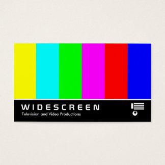 03 con pantalla grande tarjeta de visita
