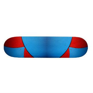 03 monopatín azul y rojo