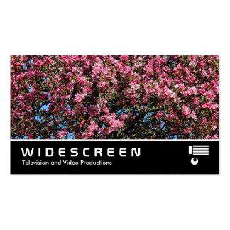 0473 con pantalla grande - Flor de cerezo rosada Tarjetas De Negocios