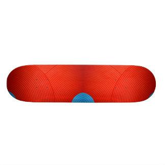 06 monopatín azul y rojo