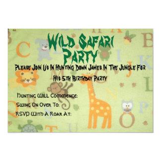 084, safari salvaje, fiesta, se unen a por favor comunicados
