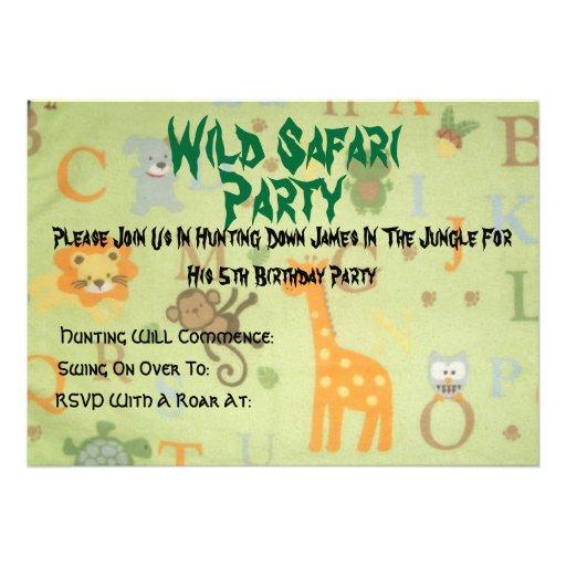 084, safari salvaje, fiesta, se unen a por favor n comunicados