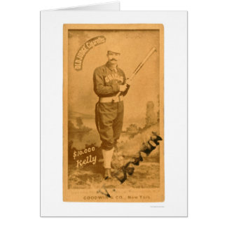 $10000 rey Kelly Baseball 1887 Felicitación