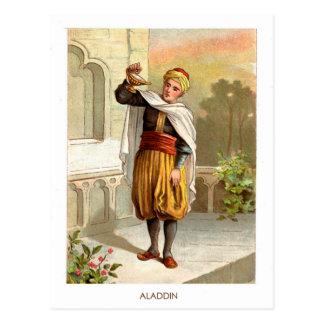 1001 noches árabes: Aladdin Postal