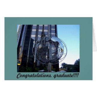 ¡100_2120, enhorabuena, graduado!!!! tarjeta de felicitación