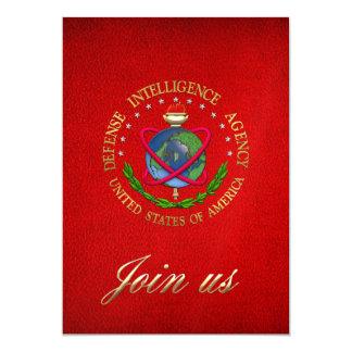 [100] Agencia de Inteligencia para la Defensa: Invitación 12,7 X 17,8 Cm