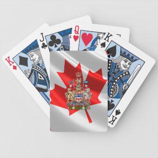 [100] Escudo de armas de Canadá [3D] Baraja