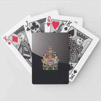 [100] Escudo de armas de Canadá [3D] Barajas De Cartas