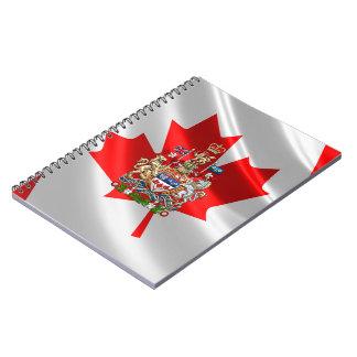 [100] Escudo de armas de Canadá [3D] Libros De Apuntes