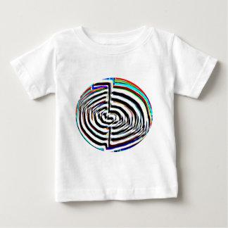 100 impresiones de Chakra n Chokuray de la flor Camiseta De Bebé