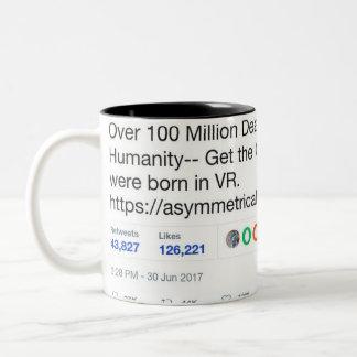 100 millones de tazas de cerámica muertas