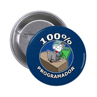 100% Programador Botón