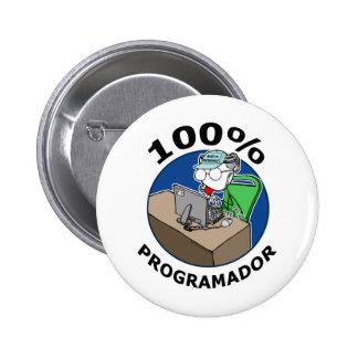 100% Programador Chapa Redonda 5 Cm