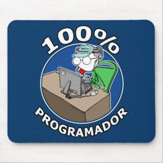 100% Programador Mousepads