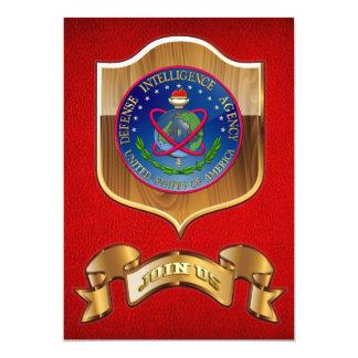 [100] Sello (DIA) de la Agencia de Inteligencia Invitación 12,7 X 17,8 Cm