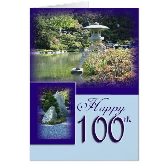100a tarjeta de felicitación feliz del cumpleaños