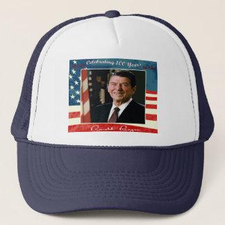 100o gorra del cumpleaños de Reagans