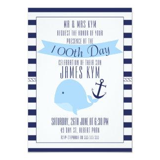 100o Invitación náutica de los muchachos de día