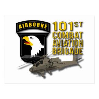 101o Aviación de combate - Apache Postal