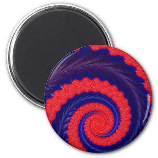 108-12 imán espiral azul y rojo