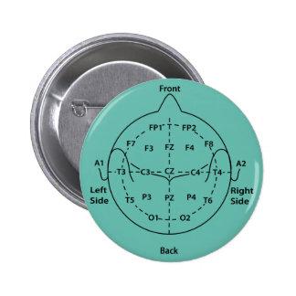 10-20 botón principal del sello