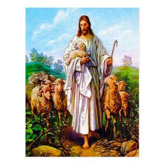 10:7 de Juan - 21 soy la buena postal del pastor