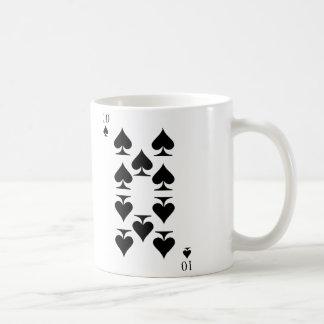 10 de espadas taza de café