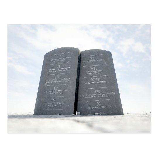 10 mandamientos en desierto postal