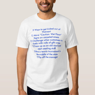 10 maneras de conseguir golpeado con el pie de camisetas