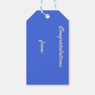 10-Pack de las etiquetas ligeras del regalo del Etiquetas Para Regalos