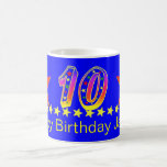 10ma taza del cumpleaños de la estrella sonriente