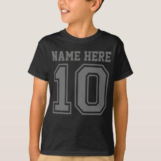 10mo Cumpleaños (el nombre del niño adaptable) Camiseta