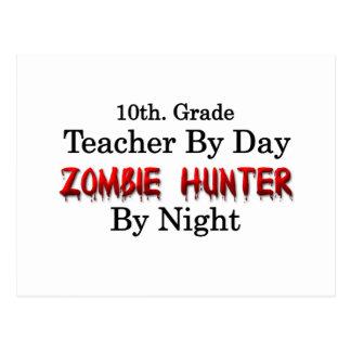 10mo. Profesor del grado/cazador del zombi Postal
